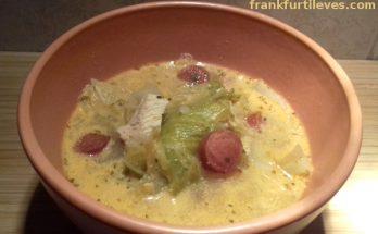 diétás frankfurti leves