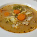 vegán frankfurti leves répával, rántással, virsli nélkül